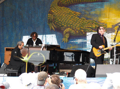 jazzfest_Allen Tousaint and Elvis Costello 4