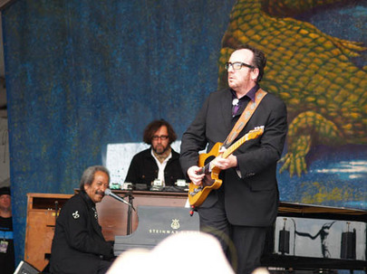jazzfest_Allen Tousaint and Elvis Costello 3