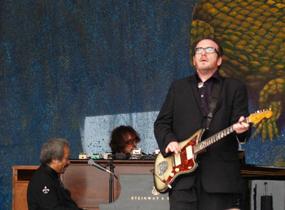 jazzfest_Allen Tousaint and Elvis Costello 2