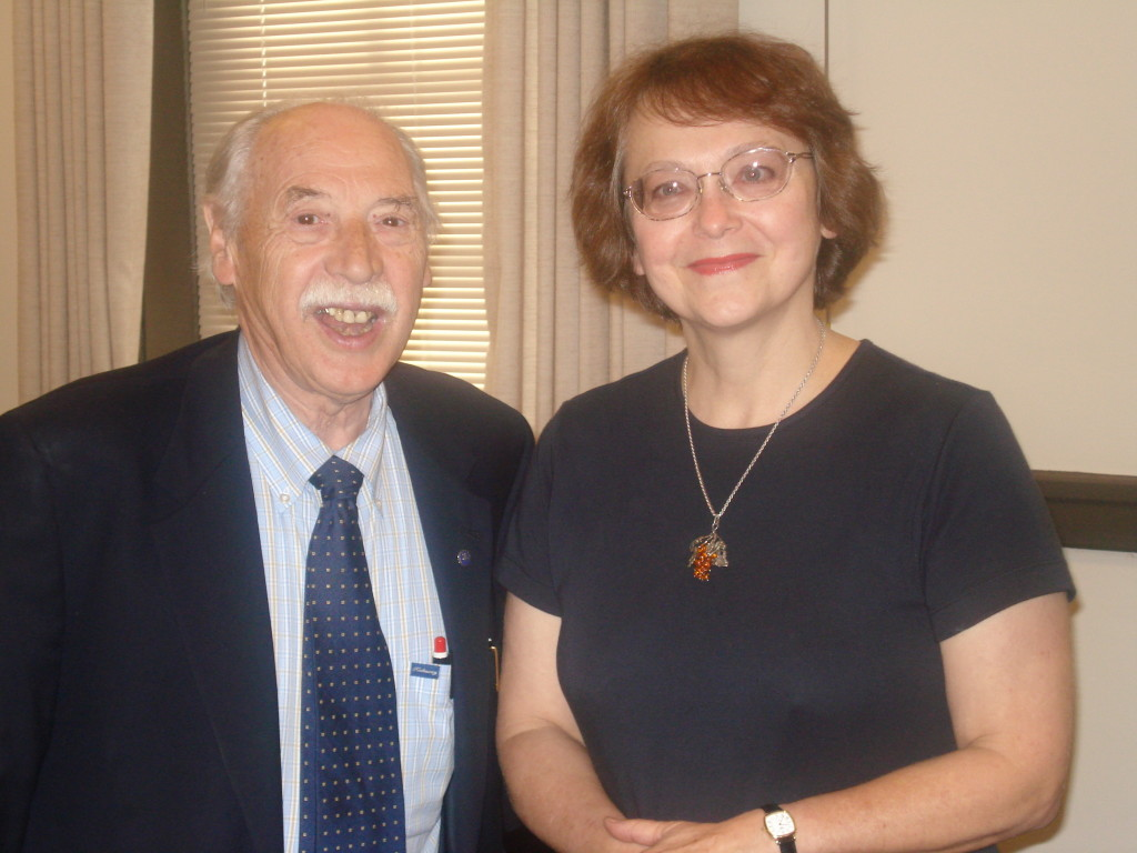 Franz Mohr and Dr. Barbara Jazwinski