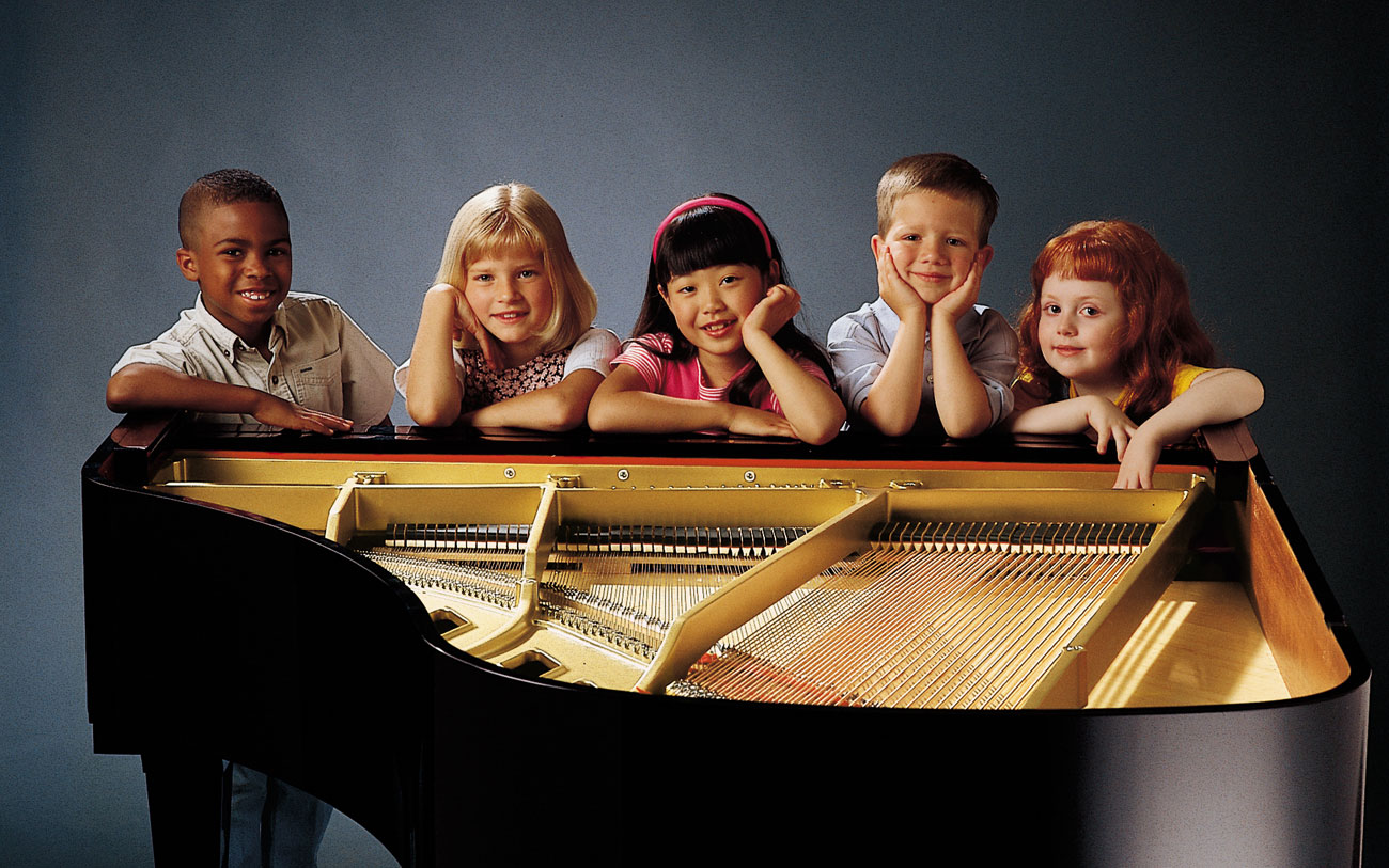 Kids Waiting For Piano Lessons Photo - Hall Piano Company