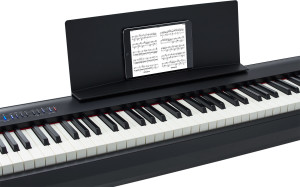 Roland FP-30 Black book stand